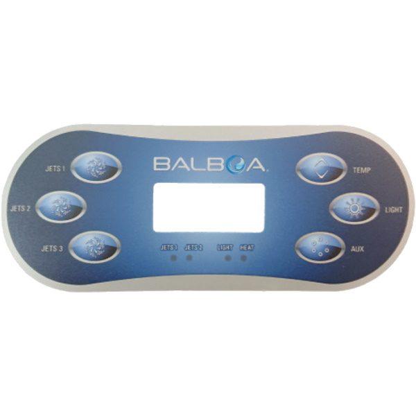 Spa Touch overlay till Balboa TP600 med 3 pumpar
